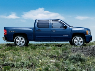 2010 CHEVROLET Silverado 1500 Crew Cab Short Box 4-Wheel Drive LT