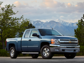 2012 CHEVROLET Silverado 1500 Crew Cab Short Box 4-Wheel Drive LT