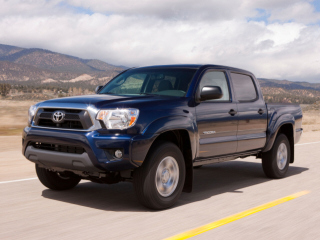 2012 TOYOTA Tacoma 4WD Double Cab Short Bed V6 Manual